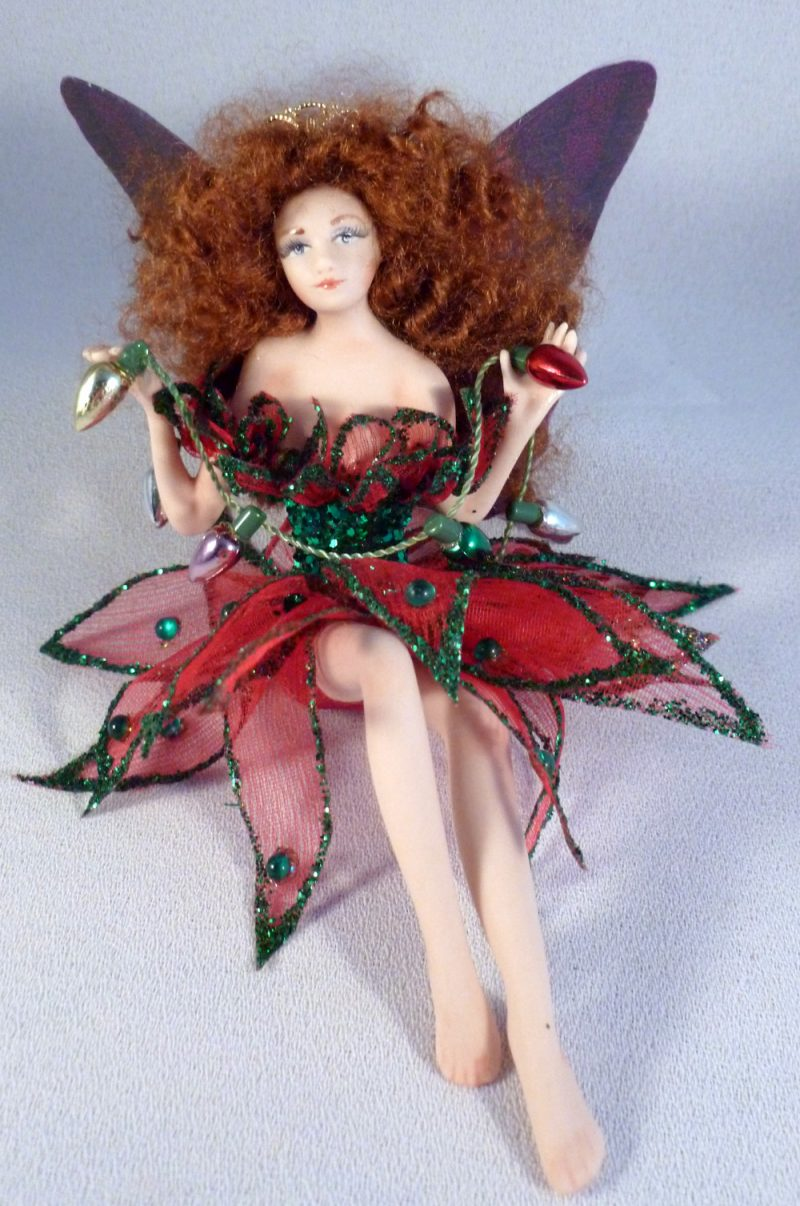 fairy and christmas ornaments